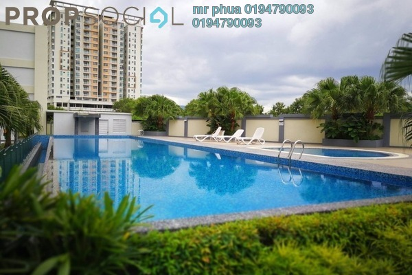 For Sale Condominium at Kelisa Residence, Seberang Jaya Freehold Unfurnished 4R/2B 425k