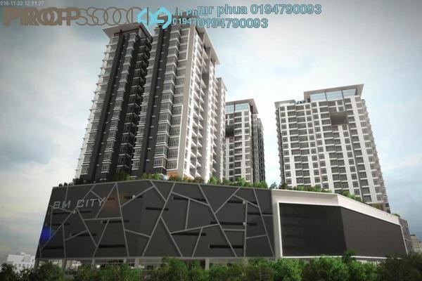 For Sale Apartment at BM City Mall, Bukit Mertajam Freehold Unfurnished 2R/3B 350k