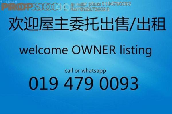 For Sale Condominium at BM City Mall, Bukit Mertajam Freehold Unfurnished 3R/2B 380k