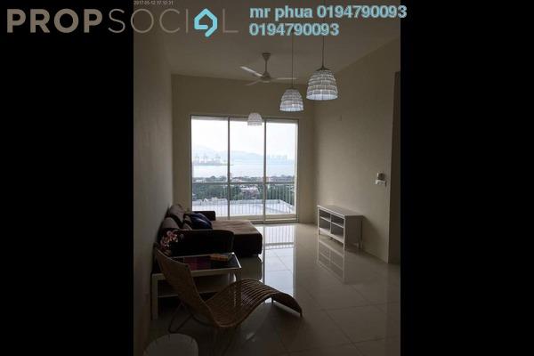 For Rent Condominium at Camellia Park Condominium, Butterworth Freehold Semi Furnished 3R/2B 1k