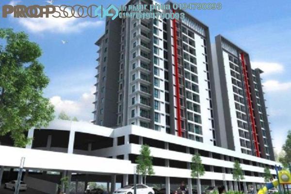For Sale Condominium at Camellia Park Condominium, Butterworth Freehold Unfurnished 4R/2B 490k