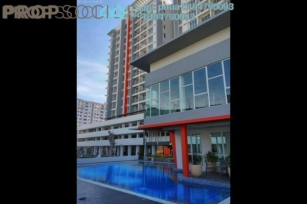 For Sale Condominium at Pantai Apartment, Butterworth Leasehold Semi Furnished 3R/2B 430k