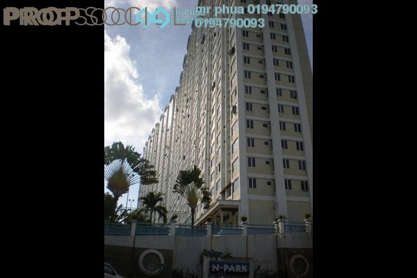 For Rent Apartment at N-Park, Batu Uban Freehold Fully Furnished 3R/2B 1.1k