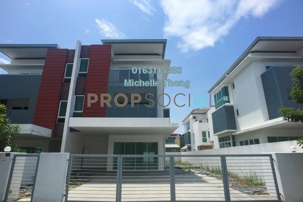 For Sale Semi-Detached at Nadayu 92, Kajang Freehold Unfurnished 5R/6B 1.33m