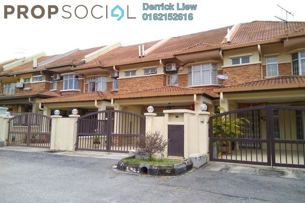 For Sale Terrace at Mahkota Walk, Bandar Mahkota Cheras Freehold Unfurnished 4R/3B 640k