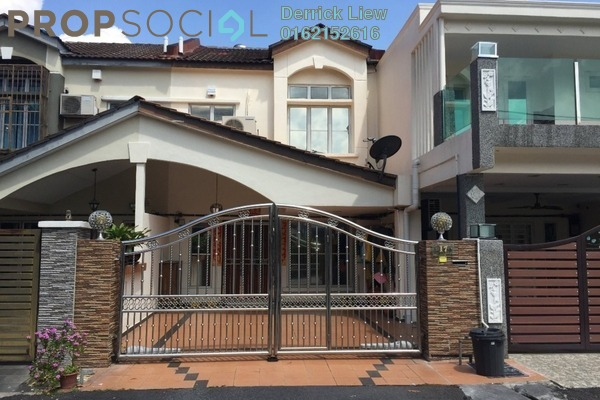 For Sale Link at Mahkota Walk, Bandar Mahkota Cheras Freehold Semi Furnished 4R/3B 600k