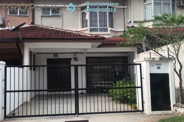 For Sale Terrace at Mahkota Walk, Bandar Mahkota Cheras Freehold Unfurnished 4R/3B 580k