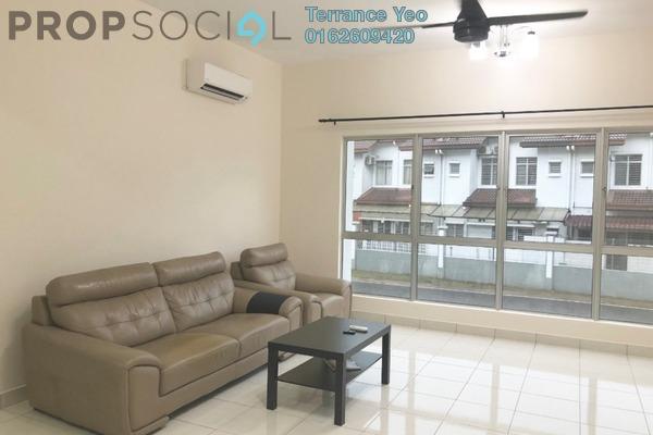 For Sale Townhouse at Lagoon Villas, Kota Kemuning Freehold Semi Furnished 4R/3B 750k