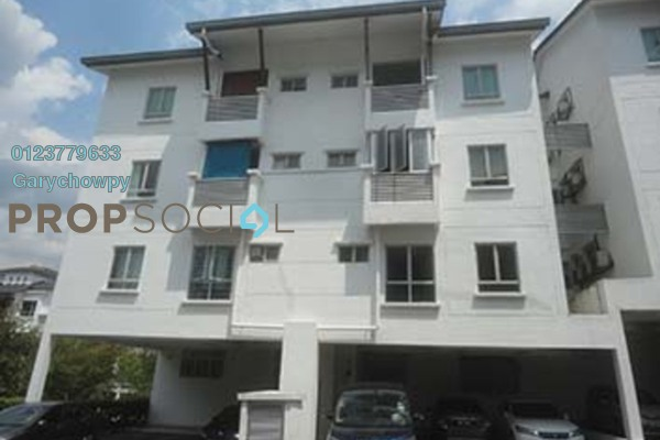 For Sale Townhouse at Bayan Villa, Seri Kembangan Freehold Semi Furnished 3R/2B 562k