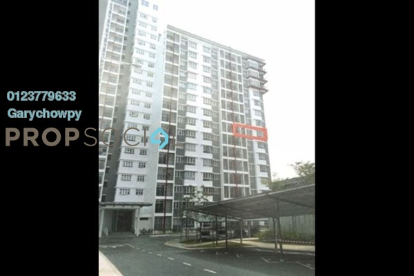 For Sale Apartment at Kalista 2, Seremban 2 Freehold Semi Furnished 3R/2B 284k