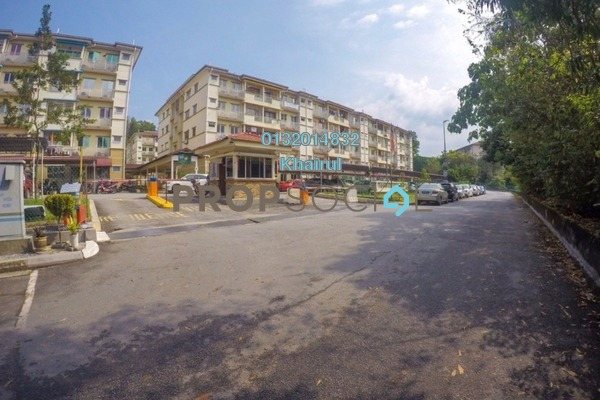 For Sale Apartment at Taman Cheras Intan, Batu 9 Cheras Freehold Semi Furnished 3R/2B 315k