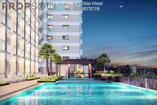 For Sale Condominium at Diamond Residences, Setapak Freehold Unfurnished 3R/2B 399k