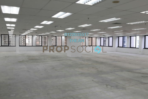 For Rent Office at Plaza OSK, KLCC Freehold Semi Furnished 0R/0B 56k
