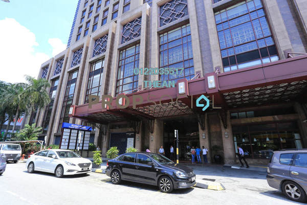 For Rent Office at Sheraton Imperial, Kuala Lumpur Freehold Semi Furnished 0R/4B 69k