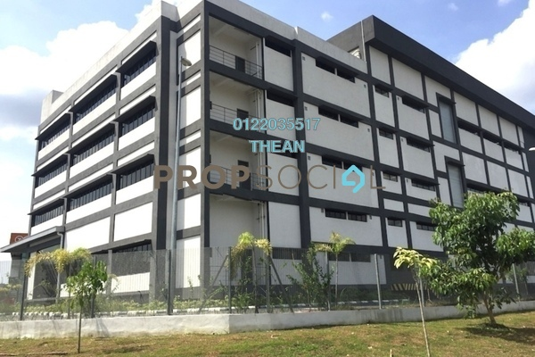 For Sale Factory at Section U8, Bukit Jelutong Freehold Semi Furnished 0R/0B 42m