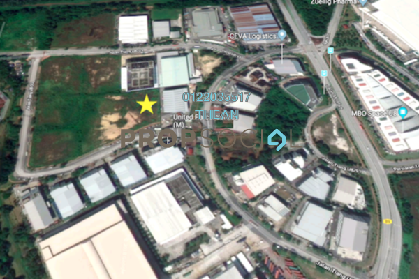 For Sale Land at Bukit Jelutong Industrial Park, Bukit Jelutong Freehold Unfurnished 0R/0B 19.6m