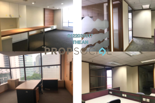 For Rent Office at Faber Imperial Court, Kuala Lumpur Freehold Fully Furnished 0R/0B 19.3k
