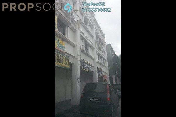 For Rent Shop at Taman Sri Rampai, Setapak Freehold Unfurnished 0R/0B 26k