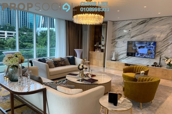 For Sale Condominium at The Oval, KLCC Freehold Fully Furnished 3R/5B 5.1m