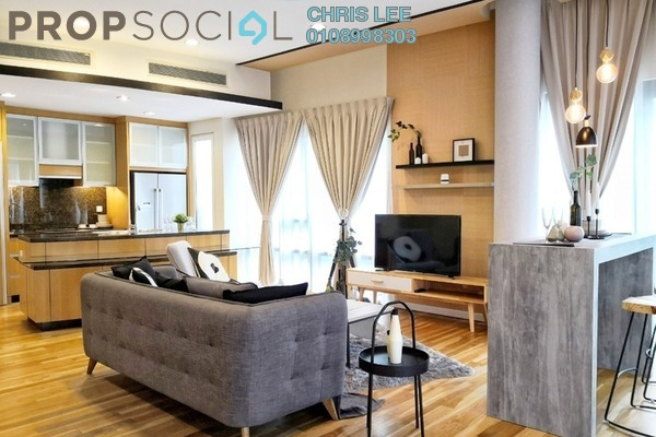 For Rent Condominium at St Mary Residences, KLCC Freehold Fully Furnished 1R/2B 5.1k