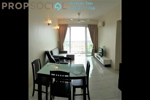 For Rent Condominium at The Spring, Jelutong Freehold Fully Furnished 3R/2B 1.7k