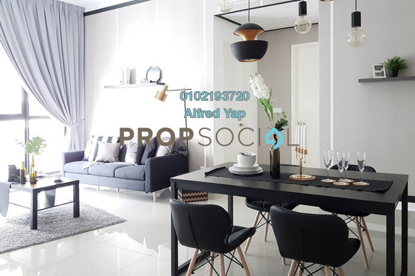 For Rent Condominium at Conezión, IOI Resort City Freehold Fully Furnished 3R/2B 2.9k