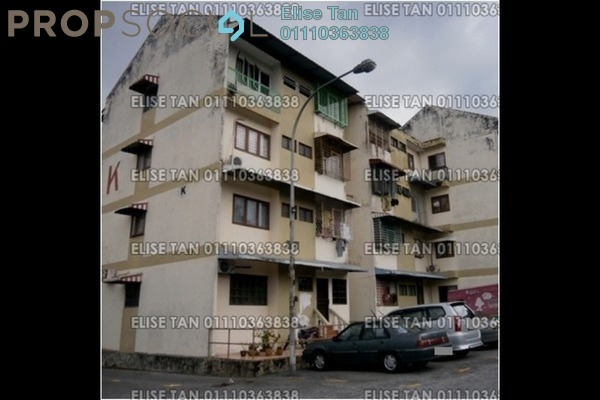 For Sale Apartment at Taman Megah, Cheras South Freehold Semi Furnished 3R/2B 126k