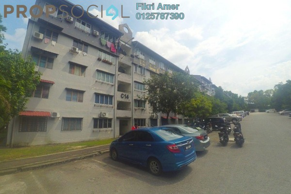 For Sale Apartment at Putra Indah Apartment, Bandar Putra Permai Leasehold Unfurnished 3R/2B 255k