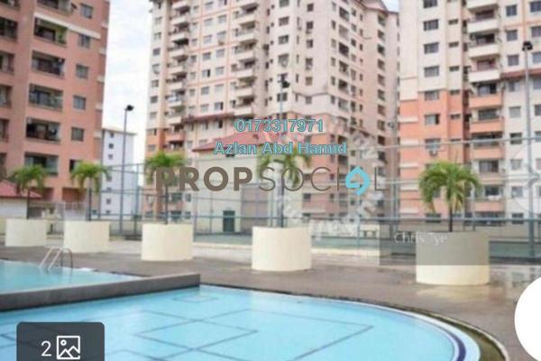 For Rent Condominium at Idaman Sutera, Setapak Freehold Semi Furnished 3R/2B 1.3k