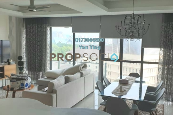 For Rent Serviced Residence at Setia Sky Residences, KLCC Freehold Fully Furnished 2R/2B 3k