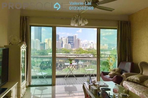 For Sale Condominium at Northpoint, Mid Valley City Freehold Semi Furnished 4R/4B 1.6m