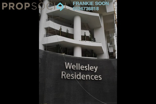 For Sale Condominium at Wellesley Residences, Butterworth Freehold Unfurnished 2R/2B 418k