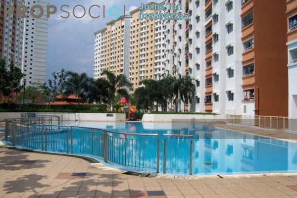 For Sale Apartment at Flora Damansara, Damansara Perdana Freehold Unfurnished 3R/2B 185k