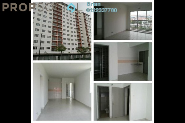 For Rent Apartment at Suria Permai, Bandar Putra Permai Freehold Unfurnished 3R/2B 850translationmissing:en.pricing.unit
