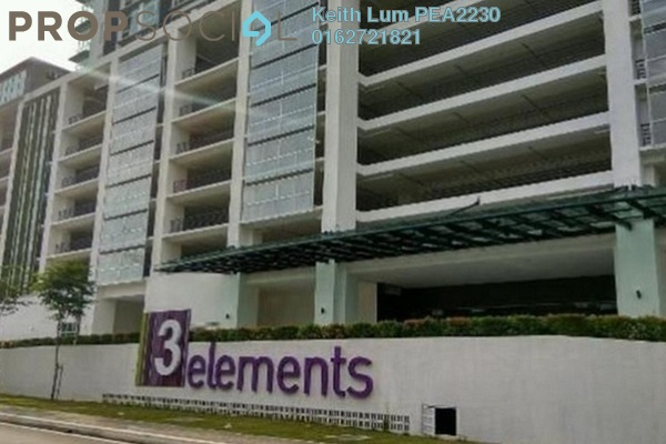 For Rent Condominium at 3Elements, Bandar Putra Permai Freehold Fully Furnished 2R/2B 1.6k