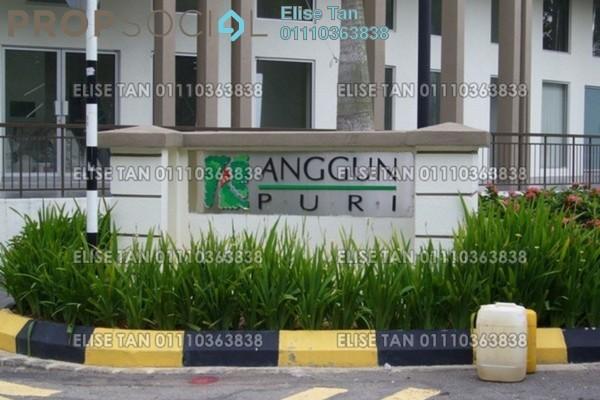For Sale Condominium at Anggun Puri, Dutamas Freehold Semi Furnished 3R/2B 307k