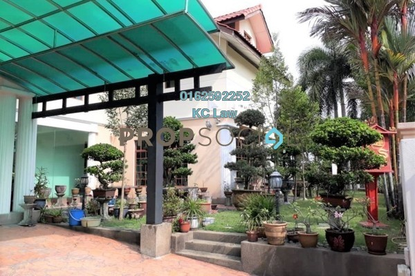 For Sale Bungalow at Bukit Tiara, Cheras Freehold Fully Furnished 7R/7B 3.5m