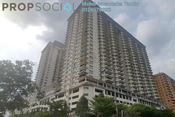 For Sale Condominium at Platinum Hill PV8, Setapak Freehold Semi Furnished 3R/2B 600k