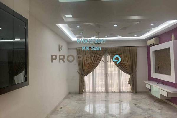 For Rent Condominium at Taman Castlefield, Sungai Besi Freehold Semi Furnished 3R/2B 1.3k