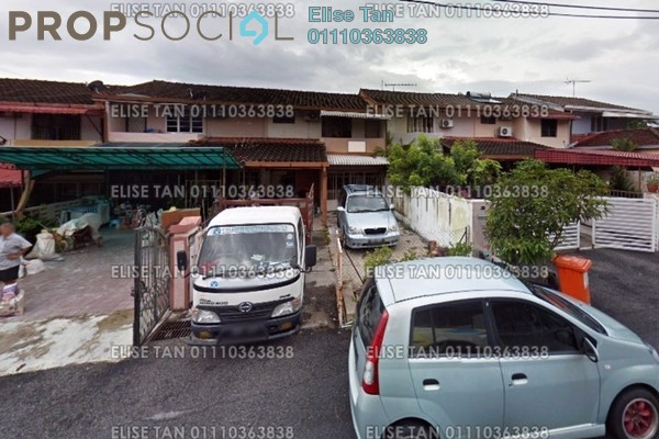 For Sale Terrace at Section 11, Shah Alam Leasehold Semi Furnished 4R/3B 348k