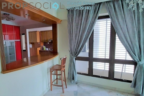 For Rent Condominium at Gurney Heights, Keramat Freehold Semi Furnished 3R/2B 2.5k
