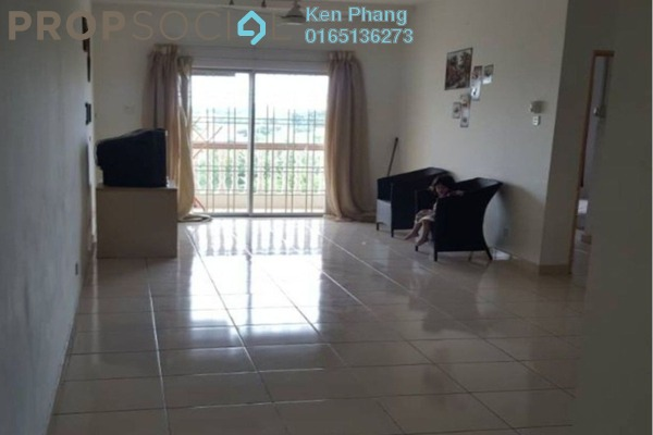 For Rent Apartment at Sri Ixora Apartment, Kajang Freehold Unfurnished 3R/2B 1k