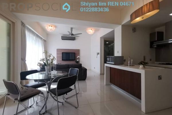 For Sale Condominium at Tiffani Kiara, Mont Kiara Freehold Fully Furnished 1R/2B 800k