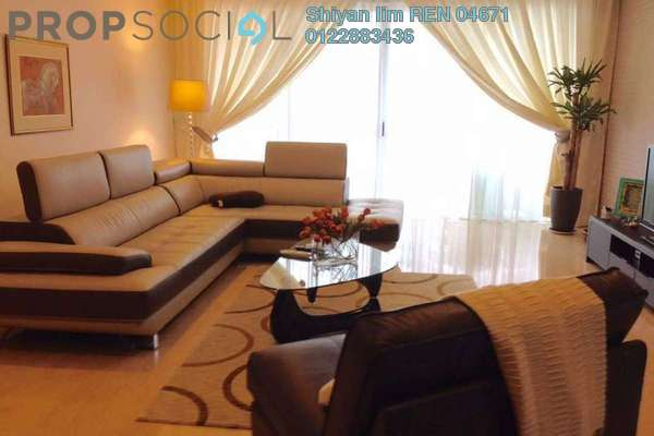 For Rent Condominium at 28 Mont Kiara, Mont Kiara Freehold Fully Furnished 4R/5B 10k