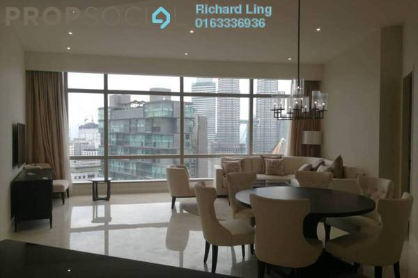 For Rent Condominium at Banyan Tree, KLCC Freehold Fully Furnished 2R/3B 11k