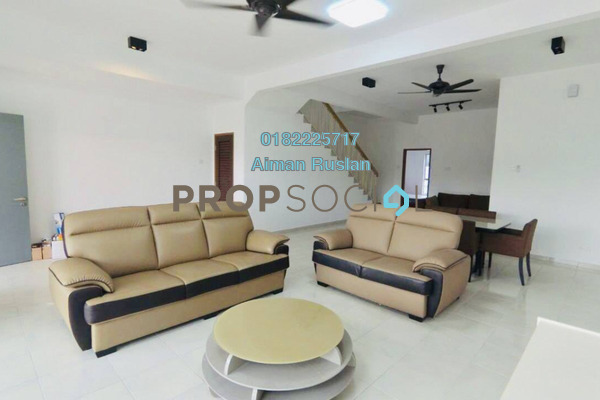 For Rent Terrace at Serene Heights, Bangi Freehold Semi Furnished 4R/3B 1.5k