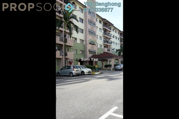 For Rent Apartment at Mas KiPark Damansara, Kepong Freehold Unfurnished 3R/2B 1k