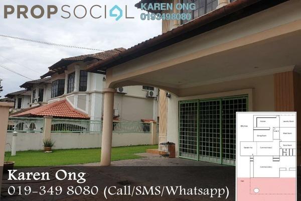 For Sale Semi-Detached at BRP 5, Bukit Rahman Putra Freehold Semi Furnished 4R/3B 1.2m