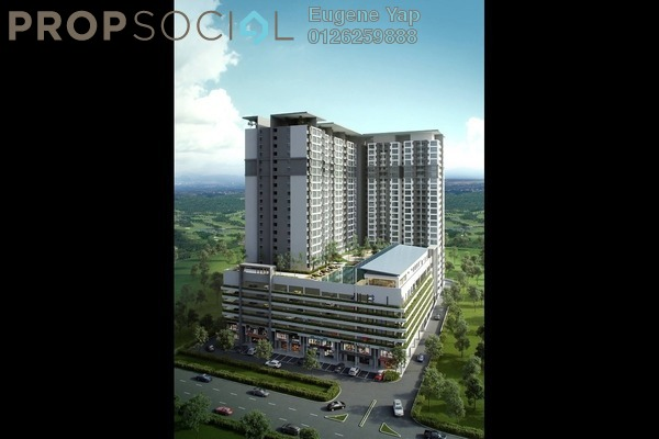 For Rent Serviced Residence at Suria Putra, Bukit Rahman Putra Freehold Unfurnished 2R/2B 1.1k