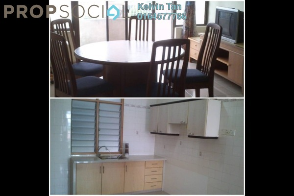 For Rent Condominium at University Heights, Sungai Dua Freehold Semi Furnished 3R/2B 1.3k